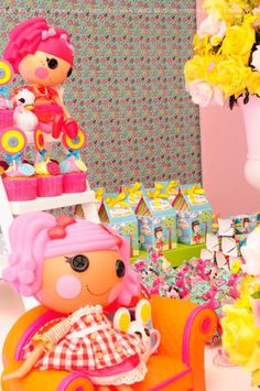 Lalaloopsy Girl Doll Sewing Cake Decor Birthday Party Planning Ideas