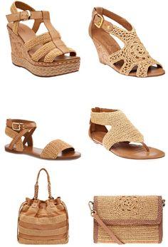 REGINA  ARTES EM TECIDOS E CROCHE: croche sandalias by arrezo.