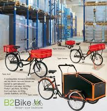 B2Bike, On the move in the warehouse