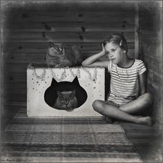 photo: We are the Cats (Gray Thoughts) | photographer: Andy Prokh | WWW.PHOTODOM.COM