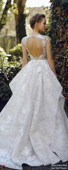 JANEL A-line lace wedding dress ❤️ http://www.deerpearlflowers.com/ange-etoiles-2018-wedding-dresses/ #bridaldress #dress #weddingdress