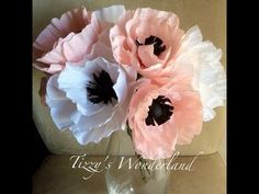 Crepe Paper and Tissue Paper tutorials for paper flowers, keepsakes, gift-wrapping, among many other creations.