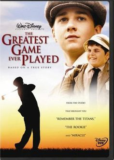 This is one of the best sports movies I've ever watched.  A great story and beautifully filmed.  You don't need to like golf to enjoy this film.