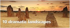 10 dramatic landscapes