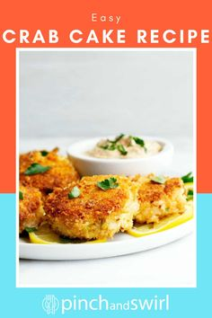 In this Easy Crab Cake recipe, I'll show you exactly how easy it is to make delicious lump crab cakes! They're made with just a few simple ingredients - the absolute best crab cakes because they're made with lump crab and actually TASTE like crab, not breading. I love to fry them in a mixture of oil and butter because butter and crab are made for each other!