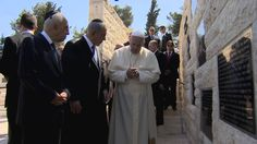 PM Netanyahu and Pope Francis Visit Memorial for Victims of Terrorism
