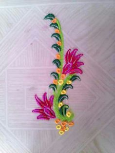 New Year Special Rangoli Designs 2017 Simple Rangoli Border Designs, Rangoli Borders, Rangoli Patterns, Colorful Rangoli Designs, Rangoli Ideas, Rangoli Designs Diwali, Kolam Rangoli, Flower Rangoli, Beautiful Rangoli Designs
