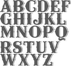 Saloon font - Google Search