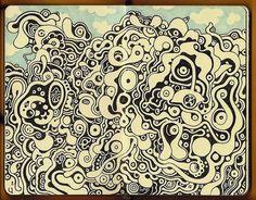 Moleskine sketchbook drawing