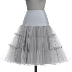 Petticoat Women Underskirt Crinoline Rockabilly Vintage Black White Petticoats  Wedding Bridal Dress Jupon Tutu Tulle Petticoat 36942d3f4b6f