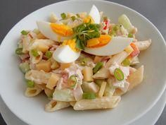 Pasta Salad, Potato Salad, Potatoes, Treats, Ethnic Recipes, Foods, Holidays, Crab Pasta Salad, Food Food