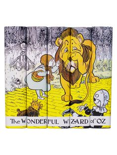 L. Frank Baum Wizard of Oz 5 Book (Set of 5) from Juniper Books on Gilt