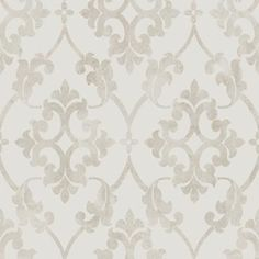 Scandinavian design wallpaper French Ornament from collection Collected Memories by Borastapeter and Eco Wallpaper Embossed Wallpaper, Wallpaper Panels, Wallpaper Roll, Wall Wallpaper, Indian Flowers, Victorian Cottage, Hazelwood Home, Alsace, 3d Wall