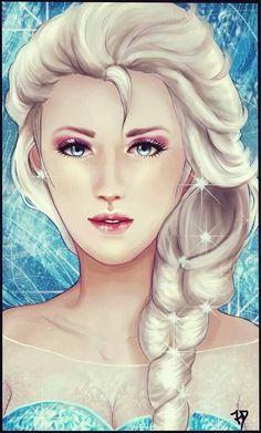 Elsa from Frozen!