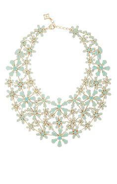 Floral Statement Necklace   BCBG