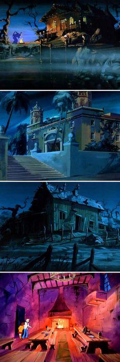 Scooby Doo Background Art
