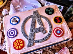 Day 281 by booturtle, via Flickr {avengers cake}
