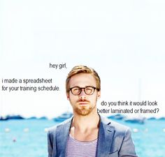 "There are plenty of Edel-Runners who appreciate this new Gosling Meme ""Hey Runner Girl."""