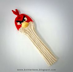 knitterbees: Angry Bird Golf Club Cover Pattern