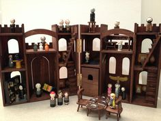 Hogwarts Castle Dollhouse and Harry Potter Friends by patty_o_furniture