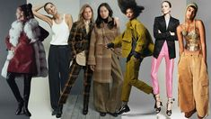 For your warmest, most stylish winter yet, start with a solid foundation of pants, from warm wools and durable leathers to velvety corduroys. Cropped Flare Pants, Flare Leg Pants, Cashmere Pants, Checked Trousers, Current Fashion Trends, Faux Leather Pants, Wool Pants, Ulla Johnson, Straight Leg Pants