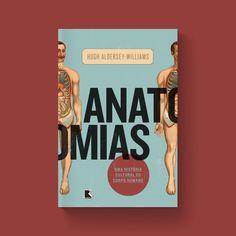 Capa para o livro de Hugh Aldersey-Williams que investigaahistóriado corpo humano e a relação que temos com ele.