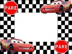 Resultado de imagen para cars disney invitaciones