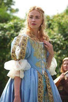 Freya Mavor as Beth Fanshawe in New Worlds - 2014