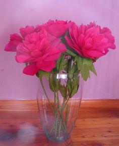 Crafty little beanut paper tulips paper flowers pinterest flowers from corrugated paper handwork art mightylinksfo