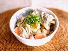 簡単!鮭と舞茸の炊き込みご飯 ©AllAbout