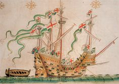 the carrack Peter Pomegranate, also known as the Peter ~ Anthony Roll 3