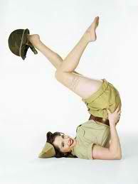 One Day I will do a Marine Pinup photo shoot! That would be so cute!