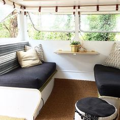Another day of completing dull yet necessary tasks around the house, when really I just want to be sitting here in Mrs Schmick, looking out to the trees and daydreaming.... #mrsschmick #goldie #sharethecaravanlove #caravanlife #vintagecaravan #caravan #vintagecaravanaustralia #camper #vintagecamper #retrocaravan #caravanrenovation #caravanreno #caravanstyle #interiors #interiordecor #interiorstyle #interiorstyling #interiorstylist #melbournestylist #emerald #emeraldvictoria #emeraldliving