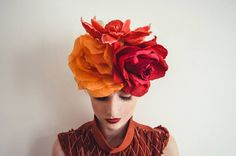 fumbalinas.co.uk flower headress. floral headwear. bridal fashion wedding inspiration
