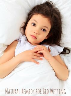 Natural Remedy for Bedwetting via @happymothering