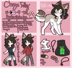 Chrys Reference Sheet by Pyro-Birdy on DeviantArt