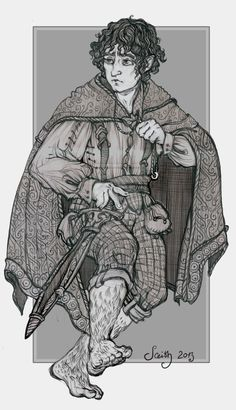 Frodo by Sceithailm