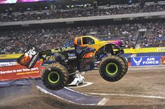 The Black Stallion Monster Truck starts with OPTIMA power!