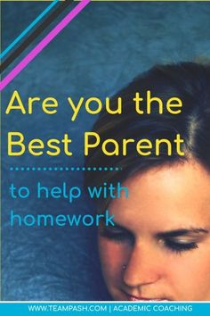 Being an awesome parent sometimes means sitting on the bench when someone can do the job better than you can. How do you know if you are the right parent for the homework job? Let's look at some indicators. Get started here! Marni Pasch Academic Coa School Planner, School Schedule, School Tips, Parenting Teens, Parenting Advice, Note Taking Strategies, Angry Words, Problem Solving Skills, Study Skills