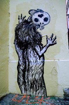 Skull Art, Lyon, France