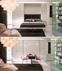 A era dos móveis funcionais para ambientes pequenos - Casa