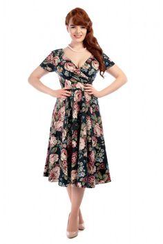 Maria Woodland Bloom Swing Dress