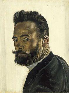 Ferdinand Hodler: Self-portrait. Oil on canvas.