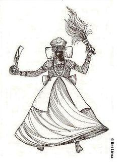 Oya, as represented in Candomble