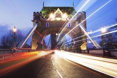 Lights on Tower Bridge.  For more photography around London, check out https://rachelfuller15.wordpress.com/2017/01/14/the-city-of-london/  #towerbridge #london #longexposure #lighttrails #landmark #architecture