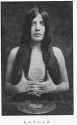 Leila Waddell (Laylah) Crowley's muse during the writing of 'The Book of Lies