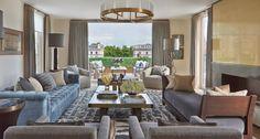 Interchange by Pollack. Helen Green Design - Penthouse North, Knightsbridge ©