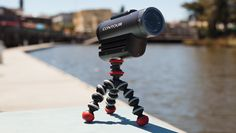 GPod Mini Magnetic - Tiny, flexible camera tripod with magnetic feet for compact and action cameras