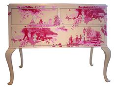 Very cool. Wallpaper Toile Decoupage