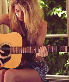 Girl&guitar